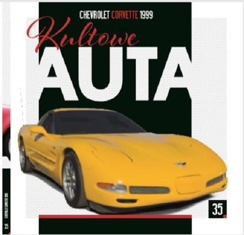 okładka Kultowe Auta 35 Chevrolet Corvette 1999, Książka |