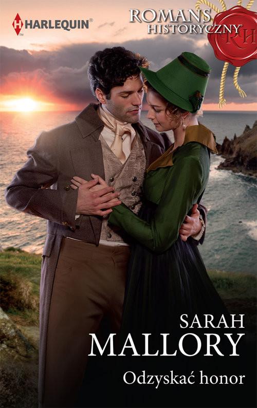 okładka Odzyskać honor, Książka | Mallory Sarah
