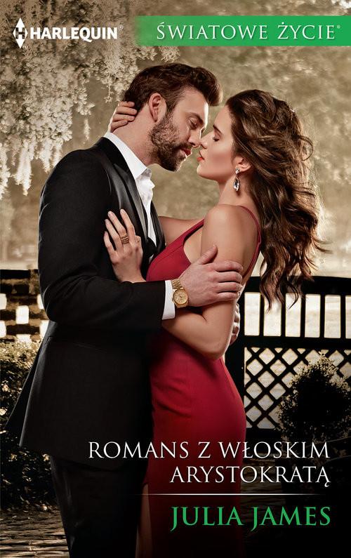 okładka Romans z włoskim arystokratą, Książka | James Julia