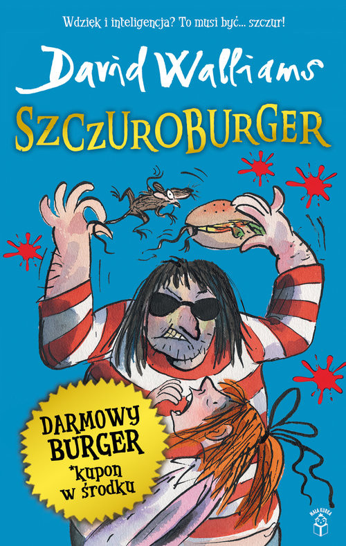 okładka Szczuroburger, Książka | Walliams David