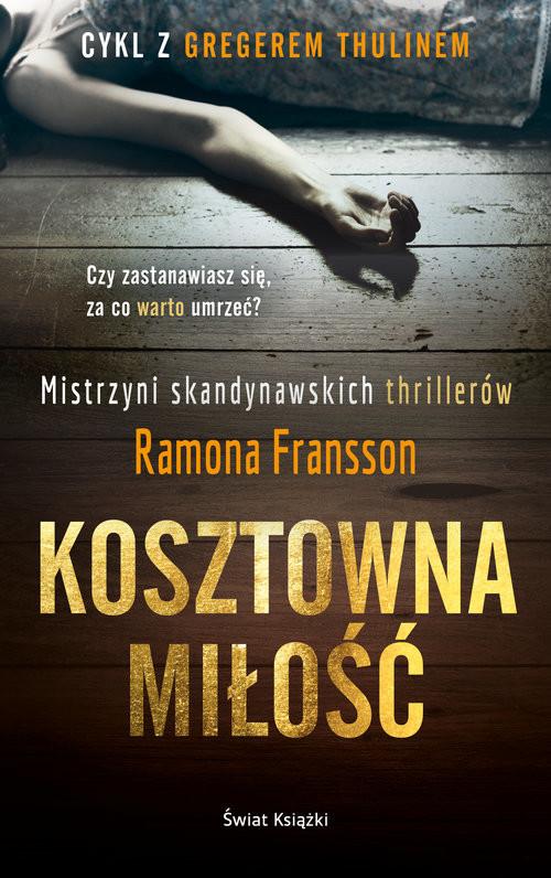 okładka Kosztowna miłość, Książka   Fransson Ramona