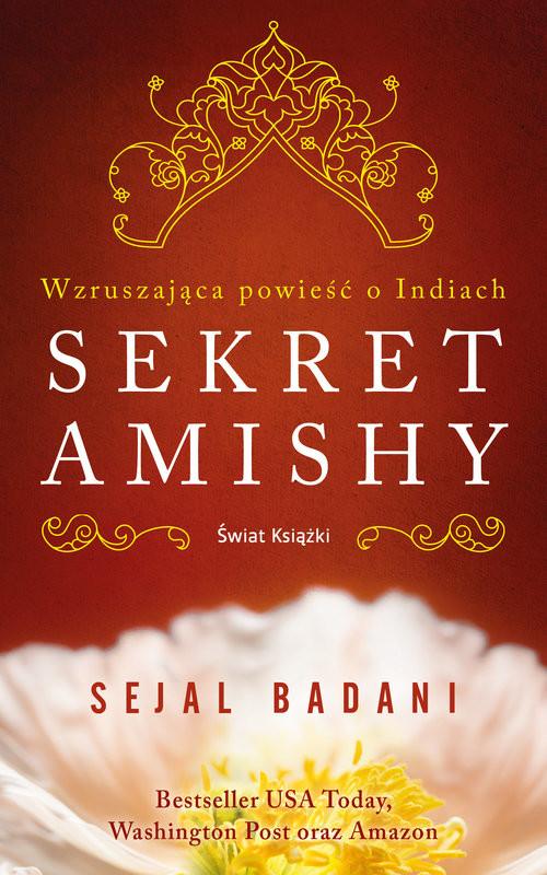 okładka Sekret Amishy, Książka   Badani Sejal