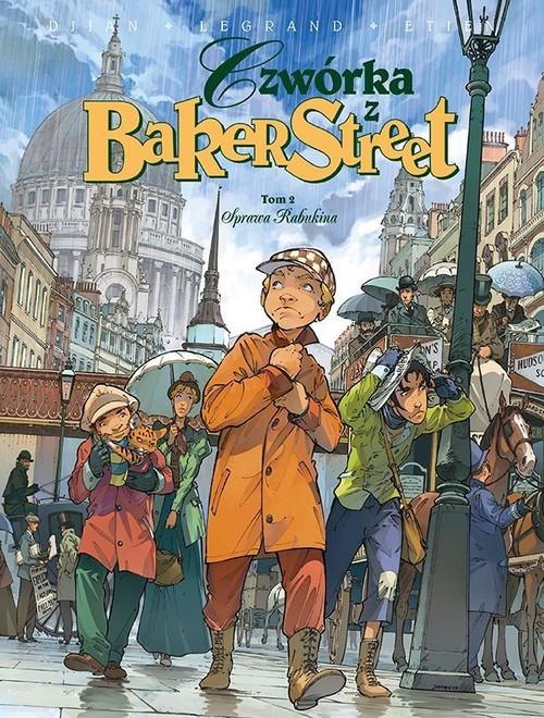 okładka Czwórka z Baker Street Tom 2 Sprawa Rabukina, Książka | Jean-Blaise Dijan, Olivier Legrand