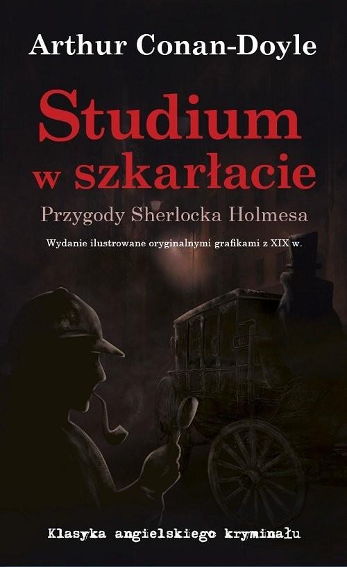 okładka Studium w szkarłacie Przygody Sherlocka Holmesa, Książka | Conan-Doyle Arthur
