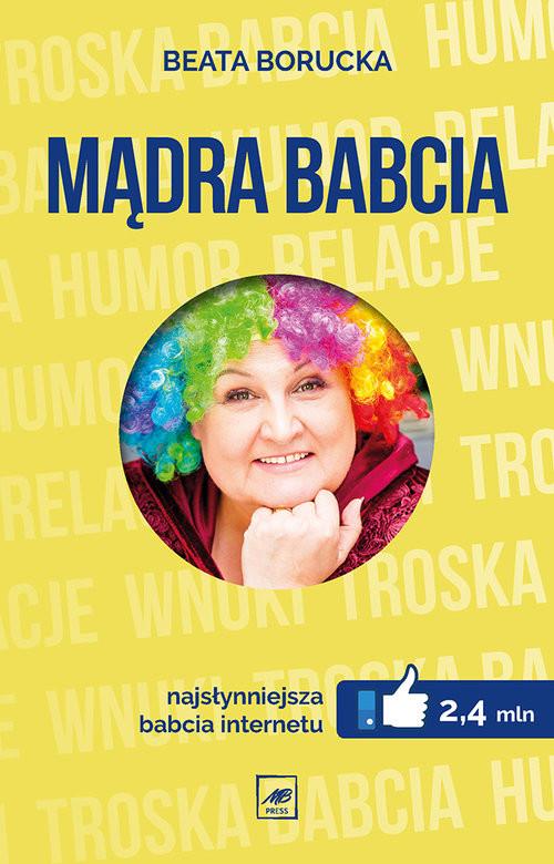 okładka Mądra Babciaksiążka      Borucka Beata