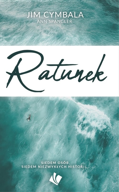 okładka Ratunek, Książka | Cymbala Jim, Spangler Ann