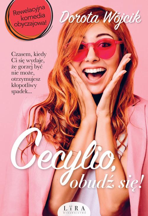 okładka Cecylio, obudź się!, Książka   Wójcik Dorota