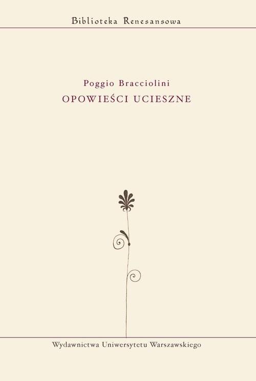 okładka Opowieści ucieszne, Książka | Bracciolini Poggio
