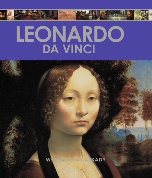 okładka Encyklopedia sztuki Leonardo da Vinci, Książka   Laura Gracia Sánchez