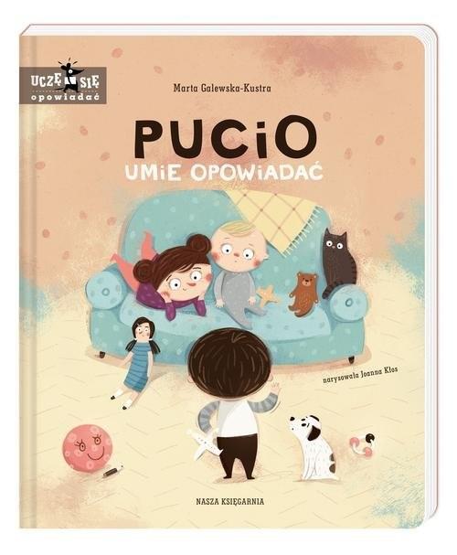 okładka Pucio umie opowiadać, Książka | Galewska-Kustra Marta