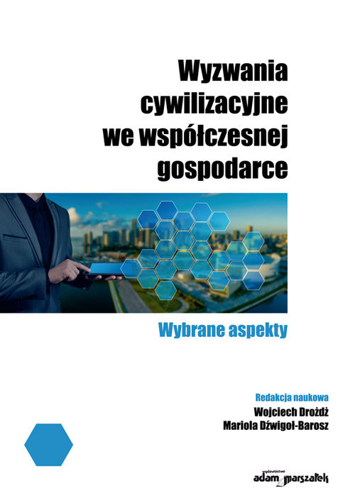 okładka Wyzwania cywilizacyjne we współczesnej gospodarce, Książka |