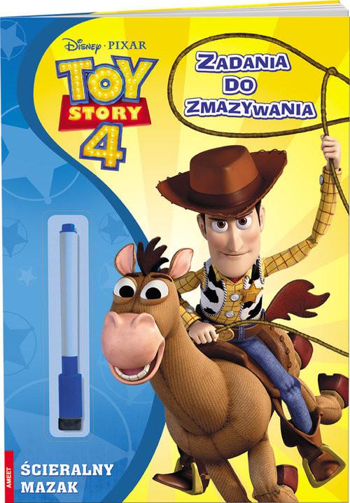 okładka Toy Story 4 Zadania do zmazywania, Książka  