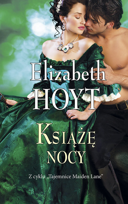 okładka Książę nocy, Książka | Hoyt Elizabeth