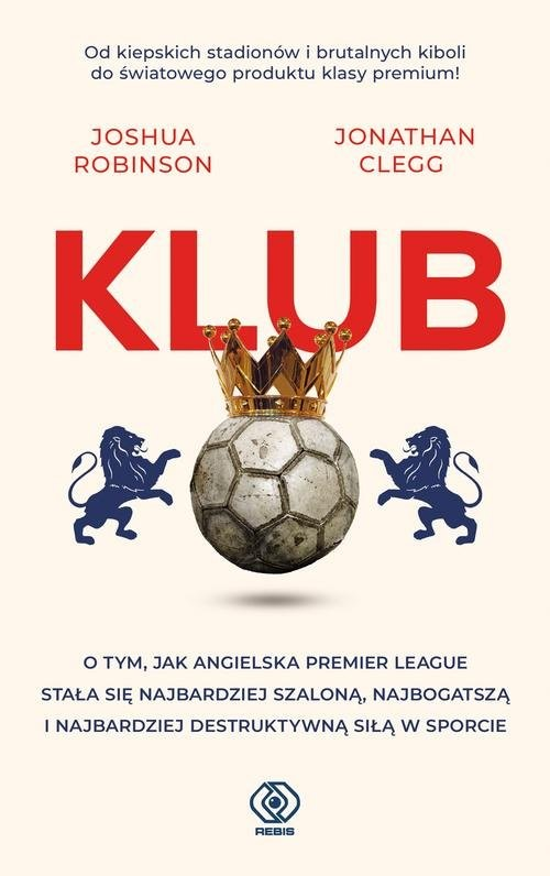 okładka Klub, Książka | Joshua Robinson, Jonathan Clegg