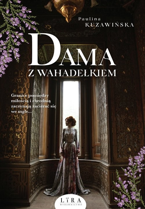 okładka Dama z wahadełkiem, Książka | Kuzawińska Paulina