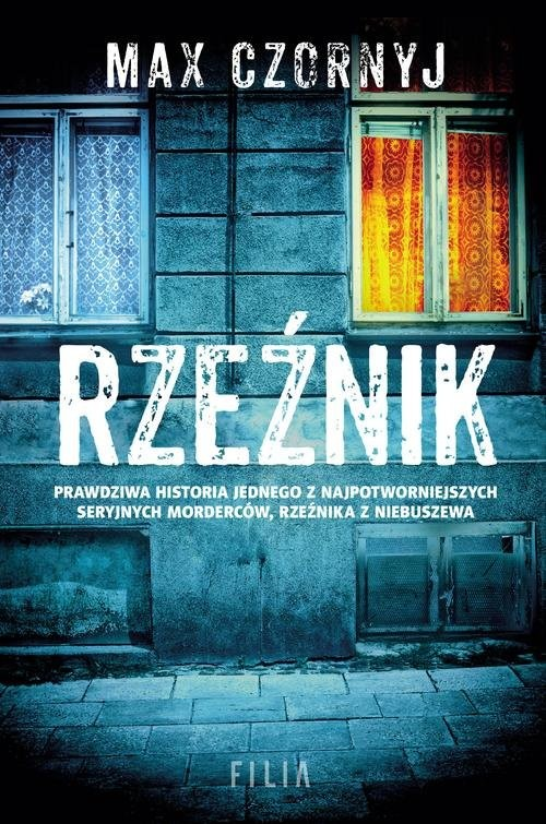 okładka Rzeźnik, Książka | Czornyj Max