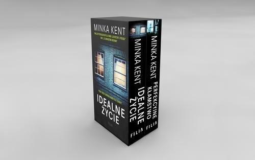 okładka Idealne życie / Perfekcyjne kłamstwo Pakiet, Książka | Kent Minka