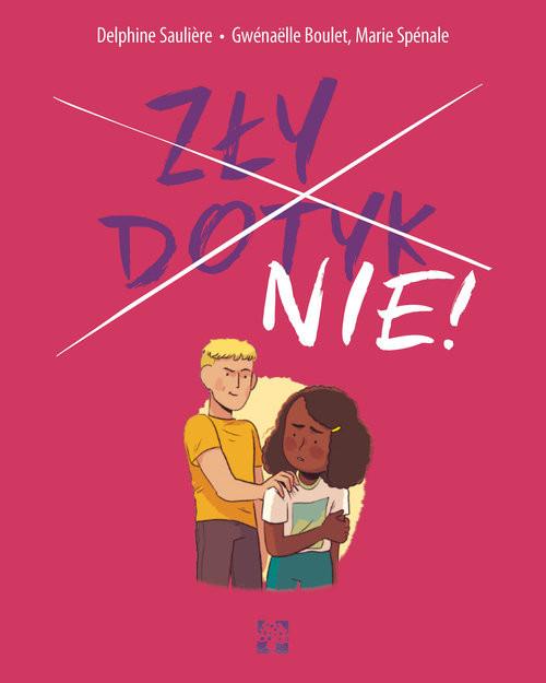 okładka Zły dotyk Nie, Książka | Delphine Sauliere