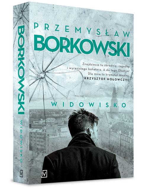okładka Widowisko, Książka | Borkowski Przemysław