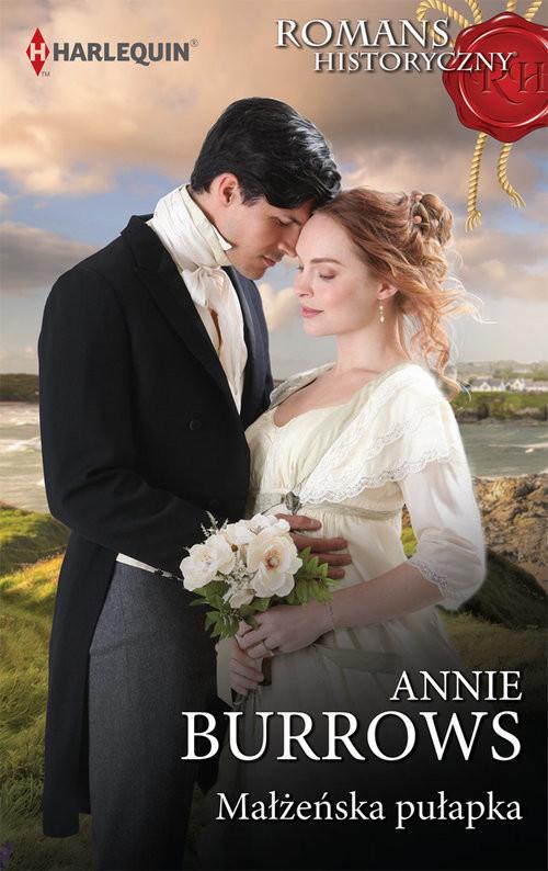 okładka Małżeńska pułapka, Książka | Annie Burrows