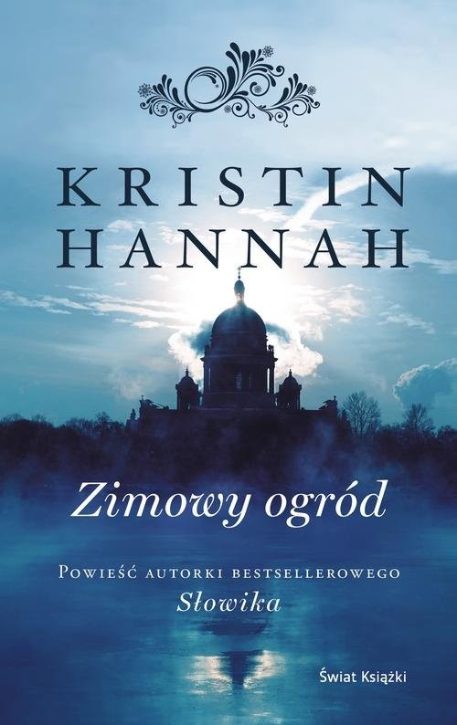 okładka Zimowy ogródksiążka      Hannah Kristin