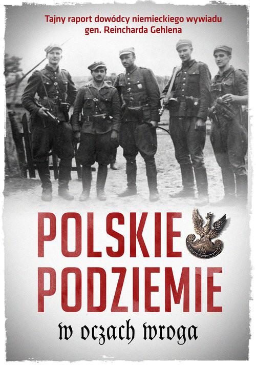 okładka Polskie podziemie w oczach wroga Tajny raport dowództwa niemieckiego wywiadu gen. Reinharda Gehlena, Książka  