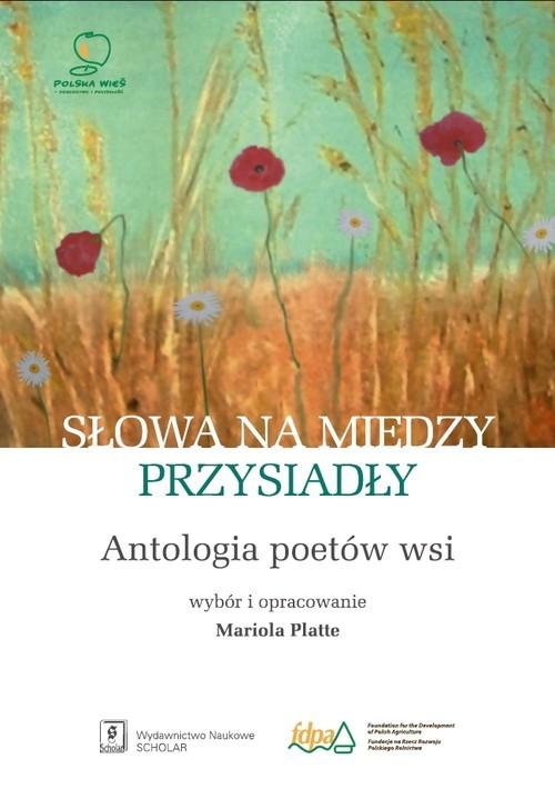 okładka Słowa na miedzy przysiadły Antologia poetów wsi, Książka |