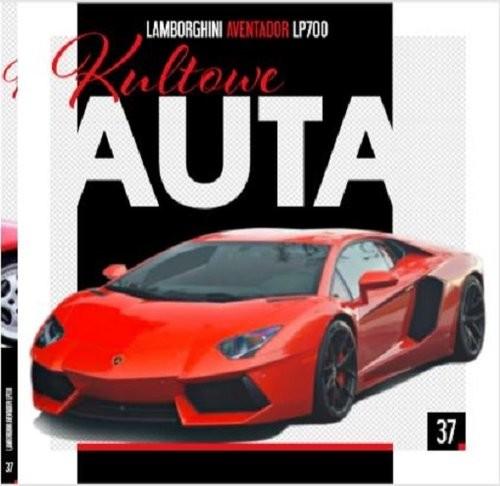 okładka Kultowe Auta 37 Lamborghini, Książka |