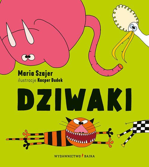 okładka Dziwaki, Książka | Szajer Maria