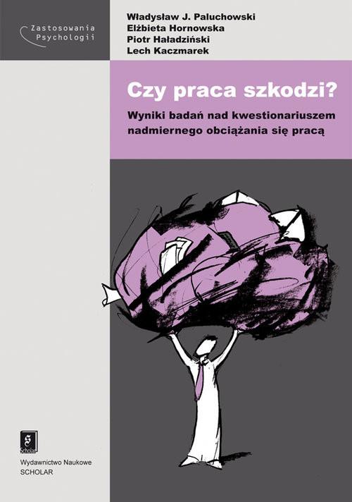 okładka Czy praca szkodzi?, Książka | Władysław J. Paluchowski, Elżbieta Hornowska, Praca Zbiorowa
