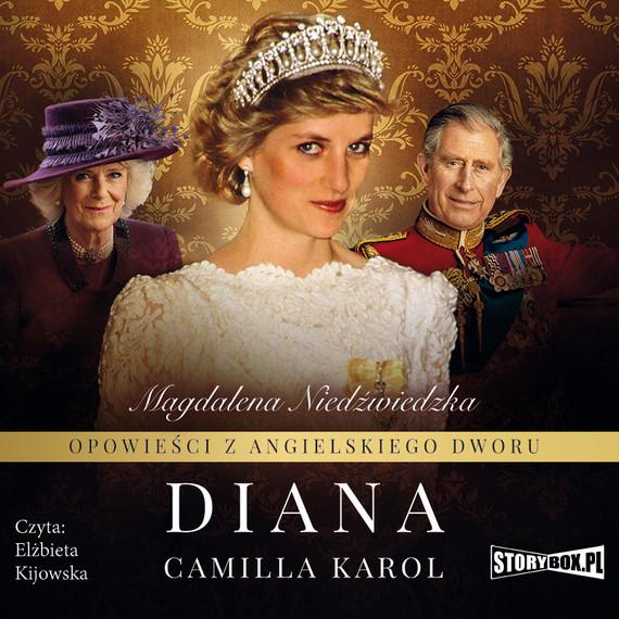 okładka Opowieści z angielskiego dworu. Tom 2. Dianaaudiobook | MP3 | Magdalena Niedźwiedzka