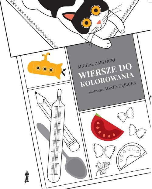 okładka Wiersze do kolorowania, Książka | Zabłocki Michał