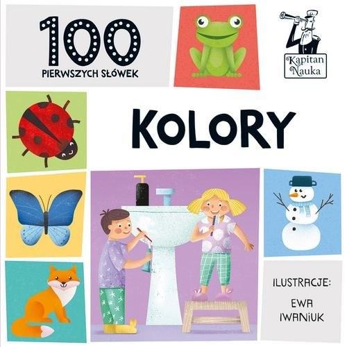 okładka 100 pierwszych słówek Kolory, Książka | Praca Zbiorowa