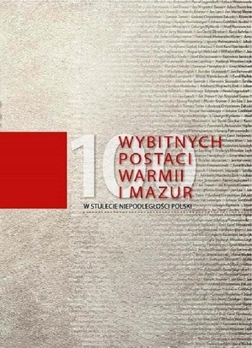 okładka 100 wybitnych postaci Warmii i Mazur / Elset, Książka | Praca Zbiorowa