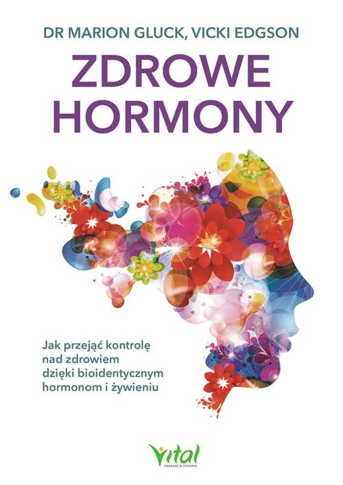 okładka Zdrowe hormony, Książka | Gluck Marion