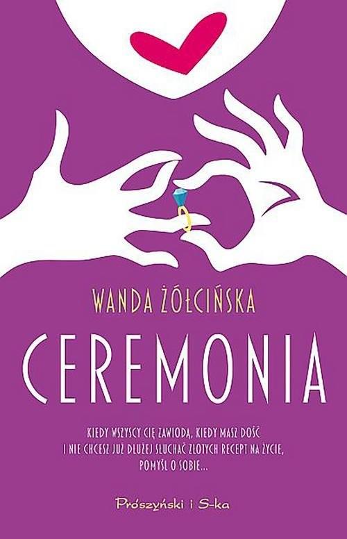 okładka Ceremonia, Książka | Wanda Żółcińska