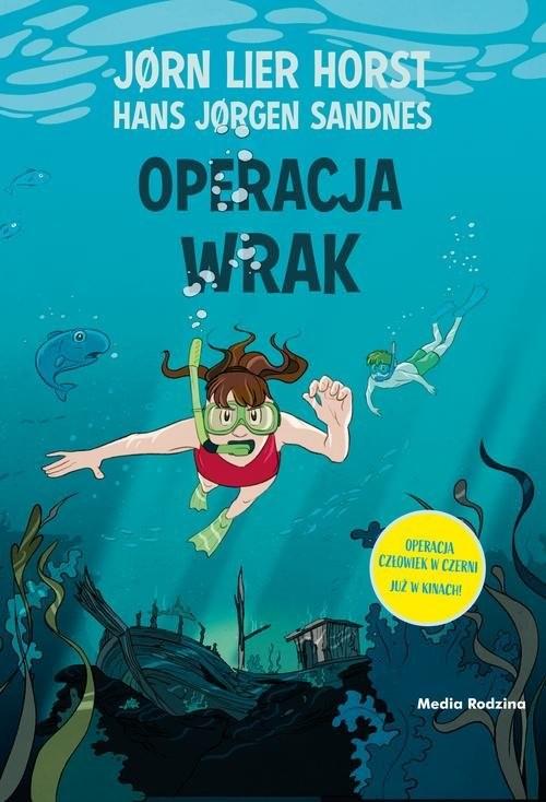 okładka Operacja Wrak, Książka | Jorn Lier  Horst