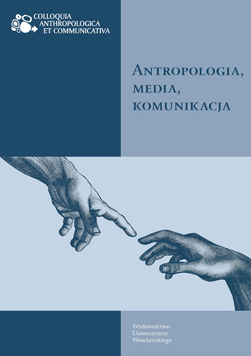 okładka Antropologia media komunikacja, Książka  