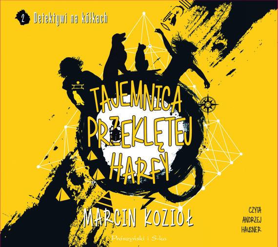 okładka Tajemnica przeklętej harfy, Audiobook | Marcin Kozioł