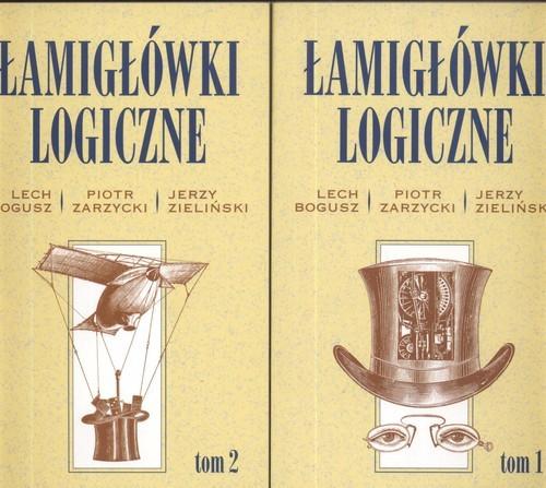 okładka Łamigłówki Logiczne Tom 1-2 Pakiet, Książka | Lech Bogusz, Piotr Zarzycki, Jerzy Zieliński