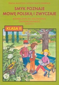 okładka Smyk poznaje mowę polską i zwyczaje 2 Podręcznik Semestr 2, Książka | Teresa Malepsza, Janina Agata Dembska