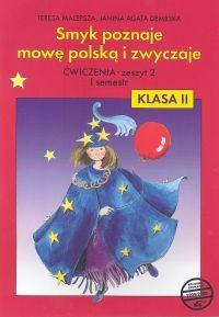 okładka Smyk poznaje mowę polską i zwyczaje 2 Ćwiczenia Część 2, Książka | Teresa Malepsza, Janina Agata Dembska