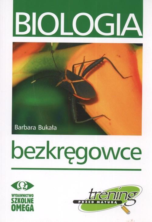 okładka Biologia Trening przed maturą Bezkręgowce, Książka | Bakuła Barbara