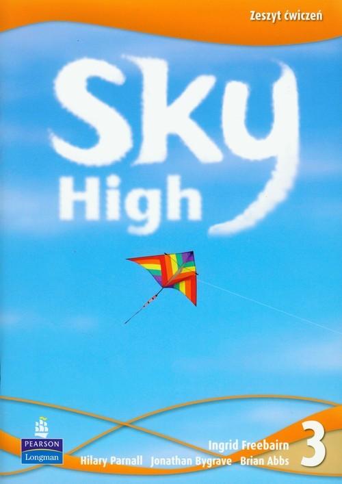 okładka Sky High 3 zeszyt ćwiczeń Szkoła Podstawowa, Książka   Ingrid Freebairn, Hilary Parnall, Jon Bygrave