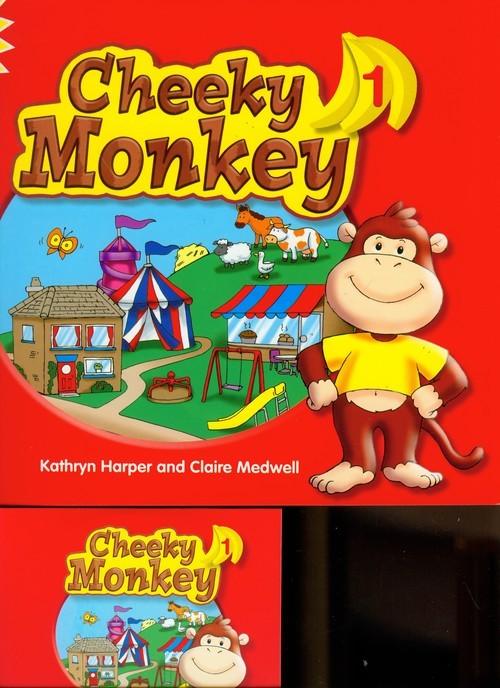 okładka Cheeky Monkey 1 Pupil's Book with Multi-ROM, Książka | Kathryn Harper, Claire Medwell