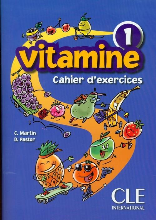 okładka Vitamine 1 Ćwiczenia + CD szkoła podstawowa, Książka | C. Martin, D. Pastor