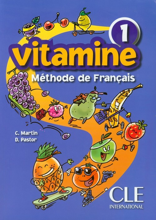 okładka Vitamine 1 Podręcznik szkoła podstawowa, Książka | C. Martin, D. Pastor