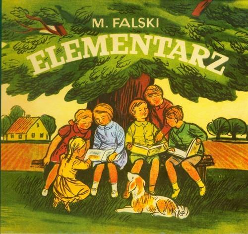 okładka Elementarz reprint z 1971 r., Książka | Falski Marian