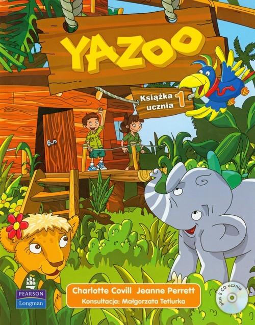 okładka Yazoo 1 Książka ucznia + 2 CD, Książka | Charlotte Covill, Jeanne Perrett