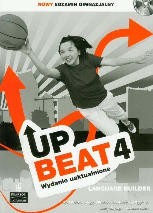 okładka Upbeat 4 Language Builder + CD Gimnazjum, Książka | Rod Fricker, Ingrid Freebairn, Jonath Bygrave